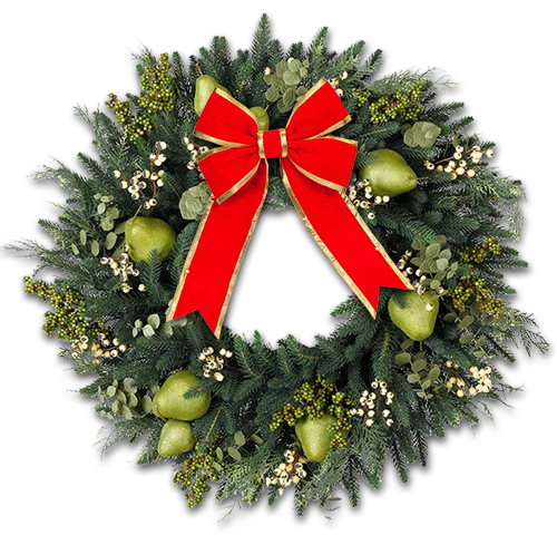 DecoratedPearwreath